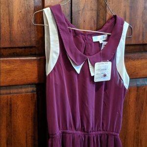 INA Plum Summer Dress Brand New Size Small